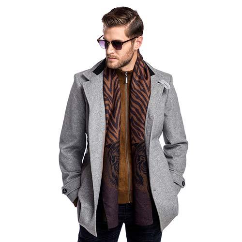 płaszcz męski